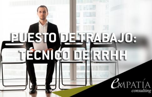 TECNICO RRHH SECTOR RETAIL ALICANTE